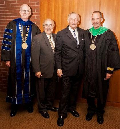 L-R: Drs. Lewis, Di Stefano, Haffner and Mittelman
