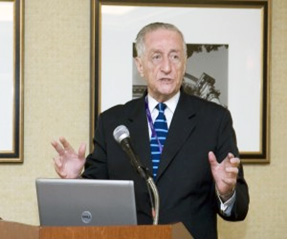 Dr. A. Norman Haffner Speaking