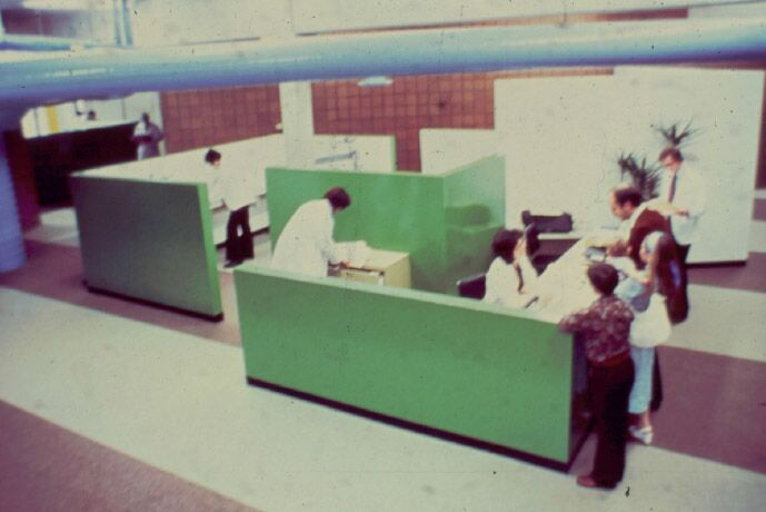The Eye Institute's Interior Circa 1970s