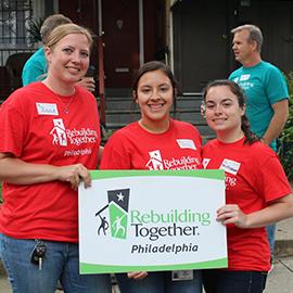 Learning Through Giving Back: OT Program Helps Philadelphia Homeowners