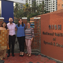 India Immersion: Audiology Students Take Whirlwind Trip to South Asia