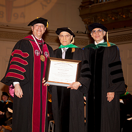 Dr. Scheiman Receives Honorary Award