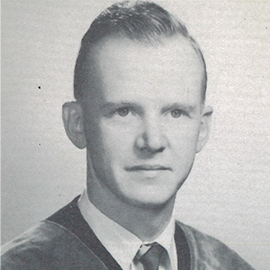 Medal Monday: John D. Robinson, OD '54