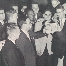 One In a Million: William Dent OD '58
