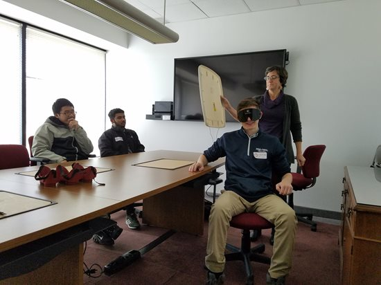 BLVS Students with Penn State Collaboration