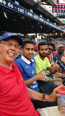 Qassim University Students at Phillies Game