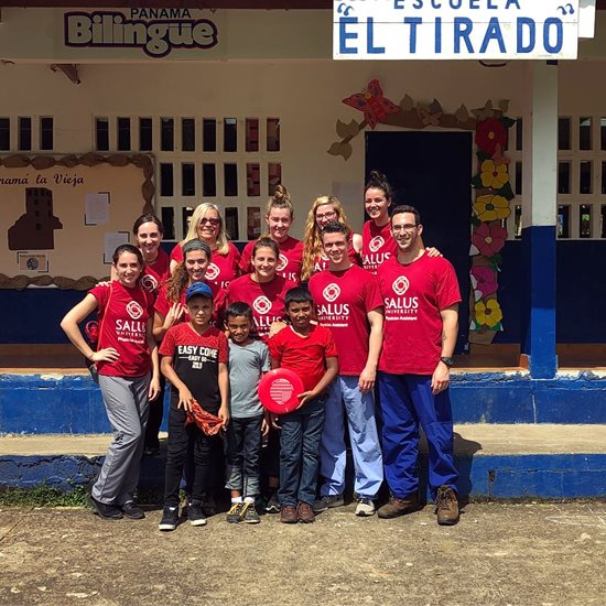 Physician Assistant Students Salus University Service Trip