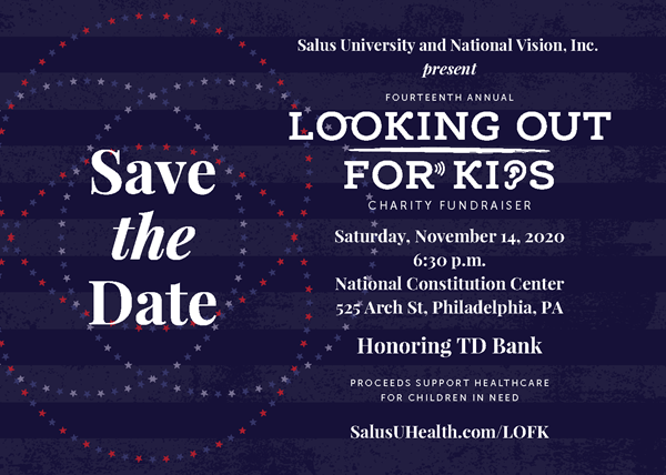Looking Out for Kids Save the Date 2020