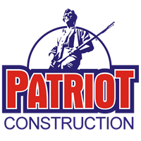 patriot's construction logo