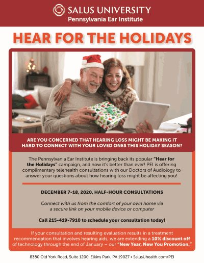 Hear for the Holidays Telehealth Campaign